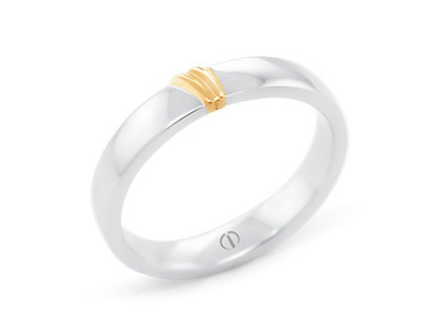 Naked Barcelona Men's Wedding Ring