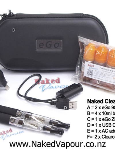 Naked Clearomizer Kit - Ce5 Type + spare heads