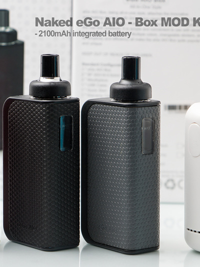 Naked eGo AIO - Box MOD Kit - 2100mAh