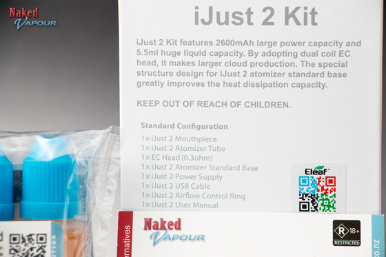 Naked iJust 2 Kit - Complete
