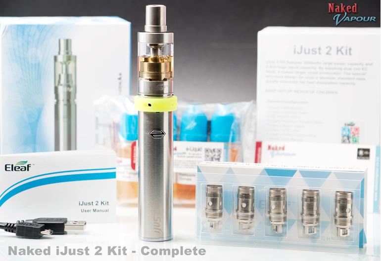 Naked iJust 2 Kit - Complete