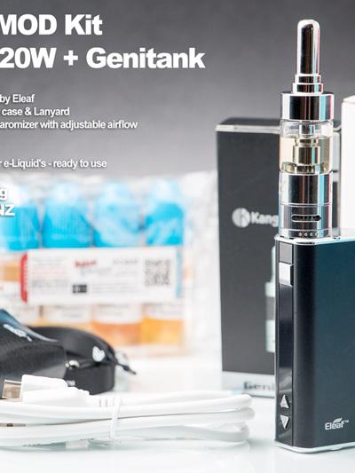 Naked MOD Kit - iStick 20W + Genitank
