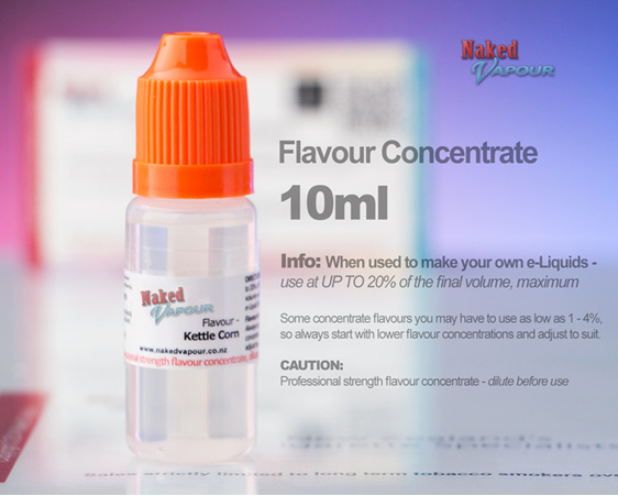 Naked Vapour - 10ml Concentrate Bottle