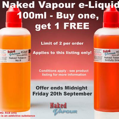 100ml - Buy 1, get 1 FREE