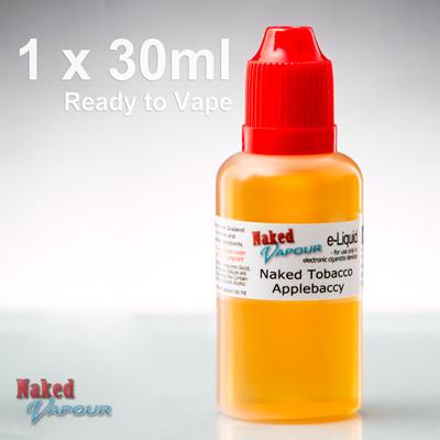 30ml - Ready to Vape - Naked Vapour e-Liquid