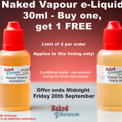 30ml - Buy 1, get 1 FREE