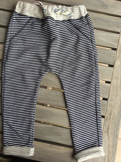 Name it Navy and white stripe pants