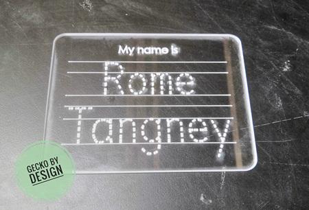 Name Tracing Board