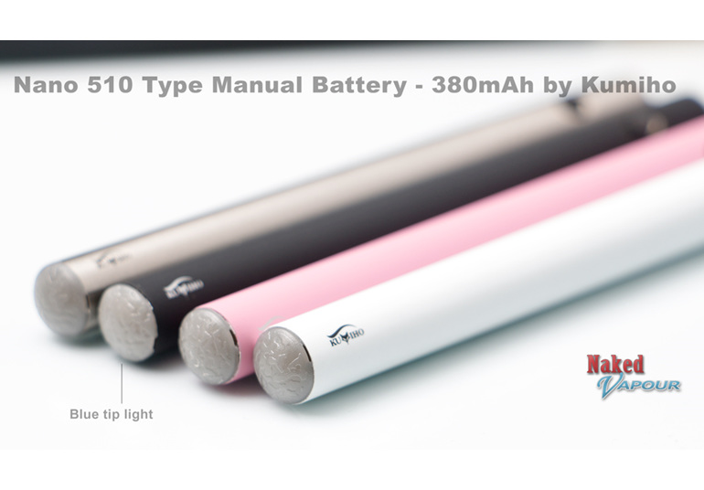 Nano 510 Type Manual Battery - 380mAh - by Kumiho