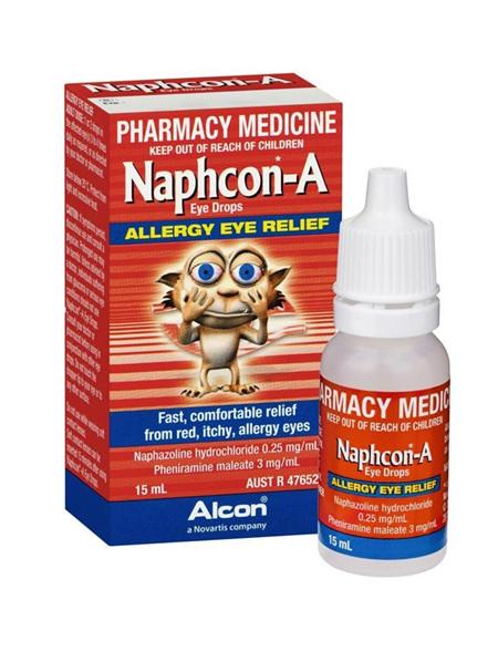 Naphcon-A Eye Drops 15ml