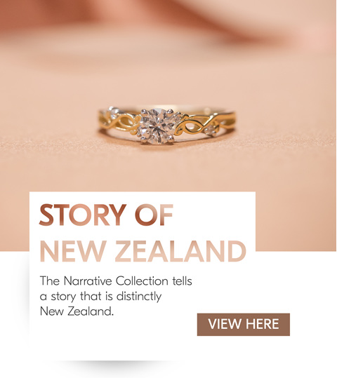 Narrative Collection Engagement Ring