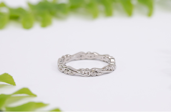 Narrative Flur Wedding Ring