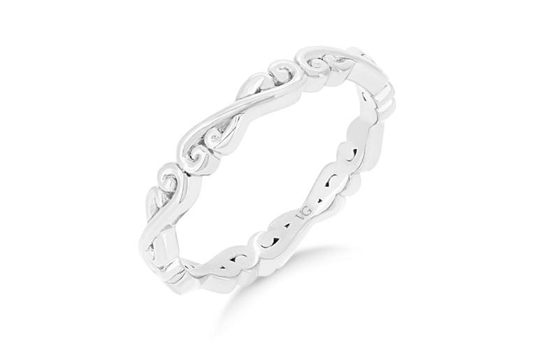 Narrative Flur Wedding Ring