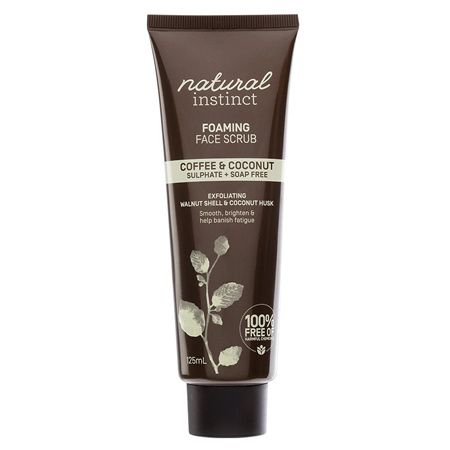 NAT INST COFFEE FACIAL SCRUB 125ML