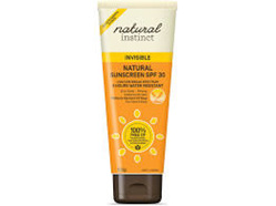 NAT INST INVISIBLE SUNSCREEN 100G