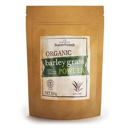 Natava Organic NZ Barley Grass Powder -  250g