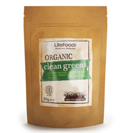 Natava Superfoods Organic Clean Greens 200g