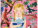 Nathalie Lété: The Girl Who Reads to Birds 1000 puzzle at www.puzzlesnz.co.nz