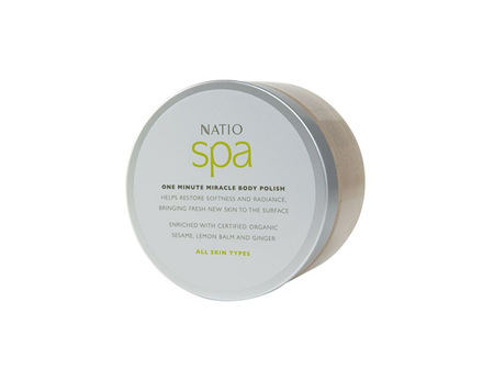 Natio 1 Min Miracle Body Polish 400g