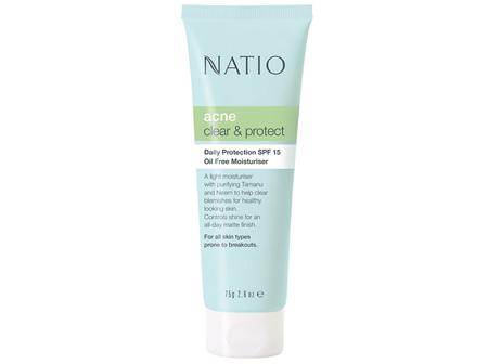 NATIO Acne Daily Prot.SPF15 O/F Mst