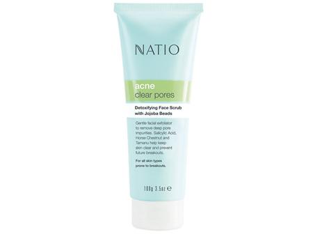 NATIO Acne Detoxifying Face Scrub