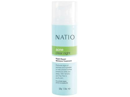 NATIO Acne Night Repair Moist.Treat