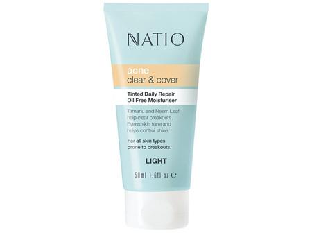 NATIO Acne Tint Daily O/F Moist Lt