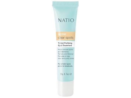 NATIO Acne Tint Purify Spot Treat.