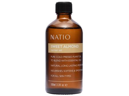 NATIO Carrier Oil Swt Almond 100ml: