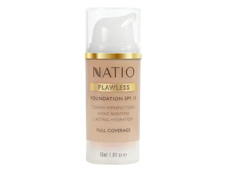 NATIO Flawless Fdn SPF15 Lt Honey