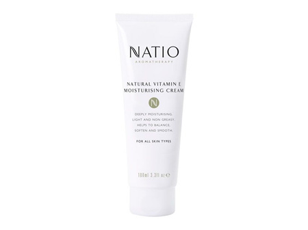 NATIO Nat Vit.E Moist Cr Tube 100ml