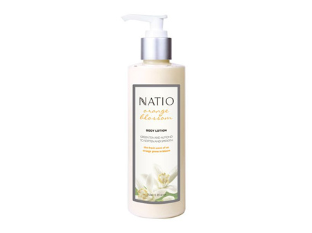 NATIO Orange Bl Body Lot Pump 250ml