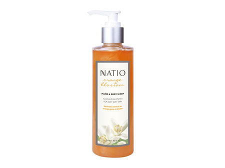 NATIO Orange Bl H&B Wash Pump 250ml