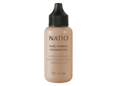 NATIO Pure Min Fdn Deep Tan