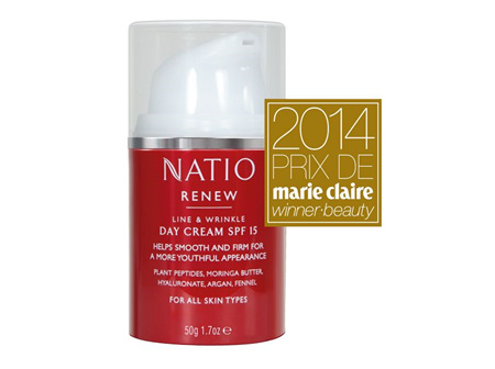 NATIO Renew Day Cream SPF15+