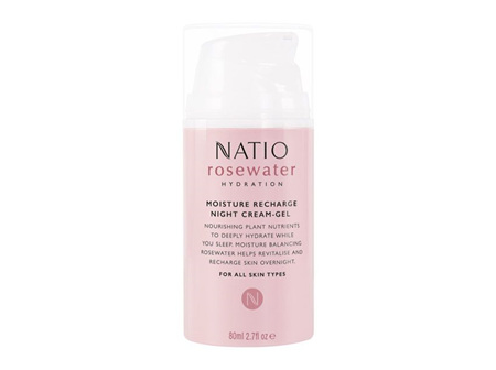 NATIO Rosewater Rech. Night Cr 80ml