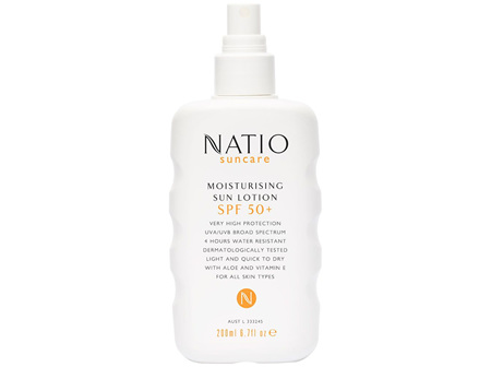 Natio Suncare Moisturising Sun Spray SPF 50+ 200ml