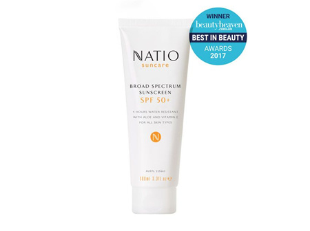 NATIO Sunscreen SPF50 100ml