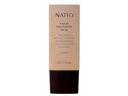 NATIO Tinted Moist SPF20 Honey