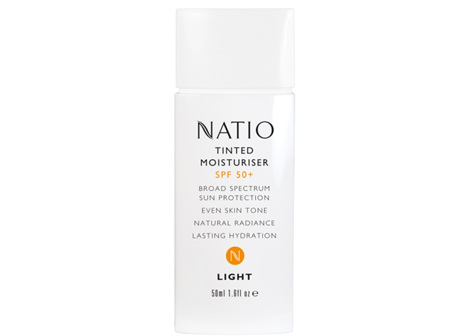 NATIO Tinted Moist SPF50 Light