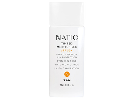 NATIO Tinted Moist SPF50 Tan