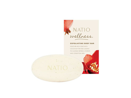 NATIO Wellness Exfoliating Body Bar