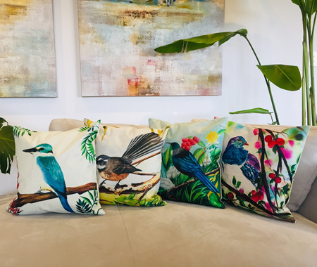 Native Bird Cushion Covers