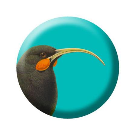 Native Bird pin badges