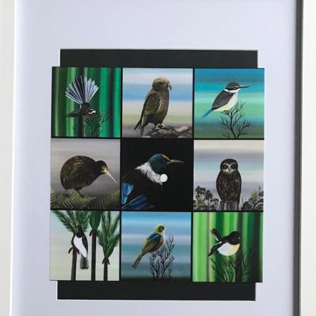 Native Birds Set - Large Frame