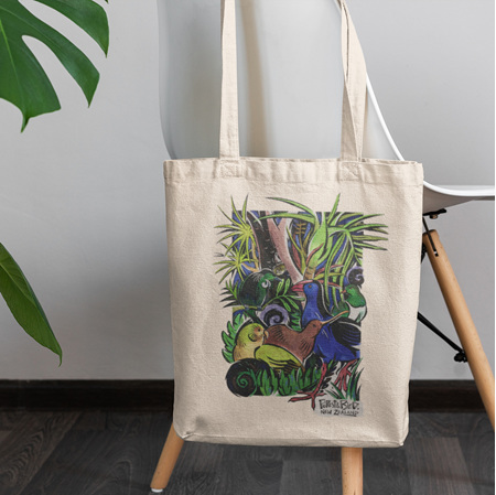 Native Birds Tote Bag