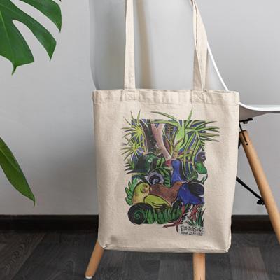 Native Birds Tote Bag