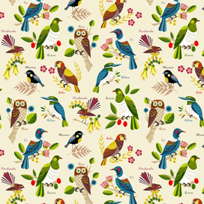 Native Bloom - Birds