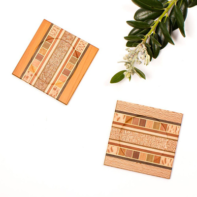 Native Timber Coaster