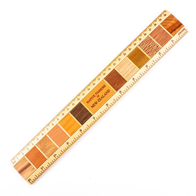 Native Timber Ruler
